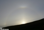 22 degree halo, Upper tangent arc and Parahelion (sundogs)
