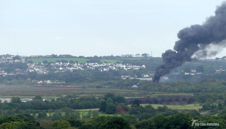 LLANGENNECH TRAIN DERAILMENT, FIRE AND POLLUTION OF THE LOUGHOR ESTUARY